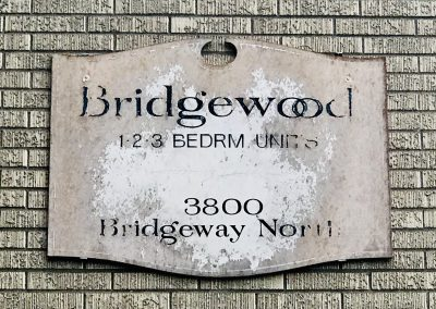 Bridgewood Sign