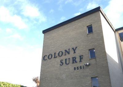 Colony Surf Building Sign
