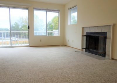 Isherwood Townhome living-fireplace